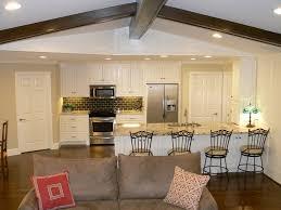 rösle offene küche offene kueche wohnzimmer abtrennen glas design
