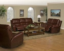 Leather Sofa And Loveseat Recliner by Decorator Couches Dark Burgundy Leather Titan Classic Motion