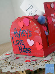 valentines mailbox crafts how to make a card holder