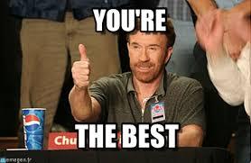 Your The Best Meme - you re chuck norris approves meme on memegen