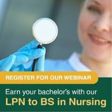 lpn to bs in nursing webinar fitchburg state university