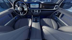mercedes g wagon red interior 2019 mercedes g class interior revealed more space more luxury