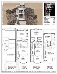 townhouse plan townhouse plan d0225 ஃ ᗩ r c h pinterest townhouse