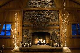 fireplace ideas diy with wood twin small tiger sculptures brick