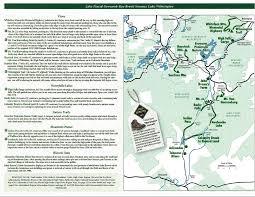 Riverside State Park Trail Map adirondack hiking trails lake placid adirondacks