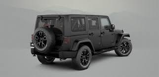 2017 Jeep Wrangler And Wrangler Unlimited Smoky Mountain