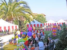 table rentals san diego back yard carnival birthday party carnival games and party