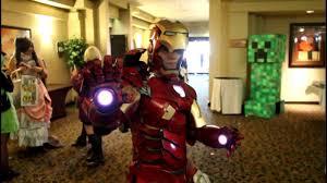 halloween iron man costume a quick look at awesome iron man mark 7 costume animeland wasabi