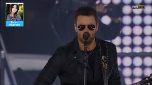 eric church thanksgiving halftime performance in dallas live 11