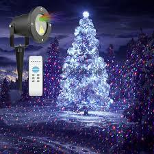 garden light rgb projection christmas light ip65 waterproof garden
