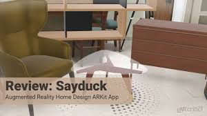 home design app review sayduck app review home design augmented reality ios app