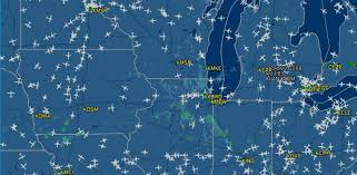Chicago Traffic Maps by Fire Shuts Chicago Atc Center For Four Days Aerospace News