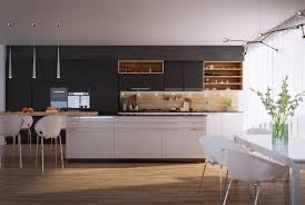 modern wooden kitchens 50 modern kitchen designs that use unconventional geometry u2013 table