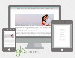 our wedding website glö is guaranteed to make your guest list less a