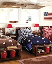 football bedroom decor red white blue bedroom red white and blue boys room decorated
