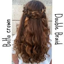 braided half up half down hairstyle hair u0026 make up pinterest