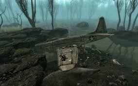 Fallout 3 Locations Map by Jet Crash Site Fallout Wiki Fandom Powered By Wikia