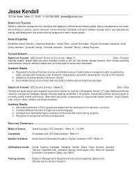 resume exles objective general english by rangers schedule teacher resume objective exle template
