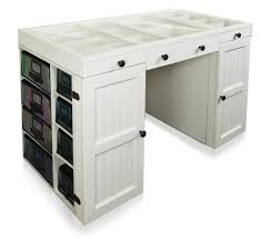 south shore artwork craft table with storage pure white eye catching craft tables and storage get ideas in table with
