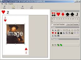 Playing Card Design Template Wwwtech Solutions Projects Software Design Development