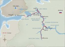 Volga River Map Cruise Through Russia Vagrants Of The World Travel