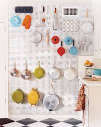 pegboard ideas kitchen best of kitchen hanging wall pots on pegboard