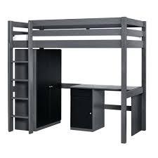 bureau convertible lit en hauteur avec canape chambre complate set wood lit mezzanine