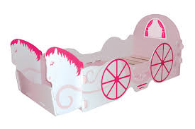 carriage bed for girls kidsaw princess carriage junior bed amazon co uk kitchen u0026 home