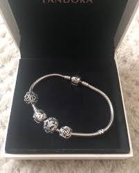 pandora bracelet box images Pandora bracelet with box and 4 charms vinted co uk jpeg