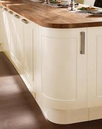 Howdens Kitchen Design Not Sure Do We Like The Rounded End Burford Cream Kitchen