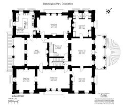 Estate Agents Floor Plans by Nicolas De Pompadour On The Market Bletchingdon Park Oxfordshire