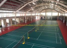 engineering prefab steel buildings badminton hall safety steel