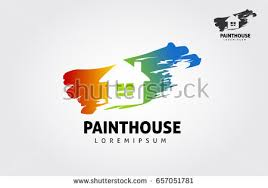 Home Decoration Logo My House Logo Stock Vector 411160645 Shutterstock