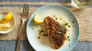 Seeking Branzino Cast Pan Roasted Fish Fillets With Herb Butter Recipe Nyt Cooking