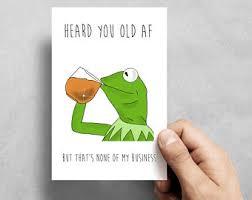 Kermit Meme Images - kermit meme etsy