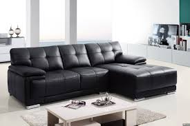 Living Room With White Leather Sectional 2pc Modern Leather Sectional Sofa Living Room Couch Set Tbqs8863 4