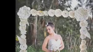 Wedding Backdrop Australia Large Paper Flowers Tissue Pom Alternative Backdrops For