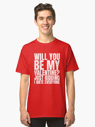 valentines day t shirts will you be my valentines day t shirt gift
