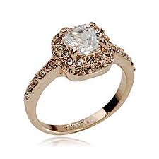 wholesale rings com images Wholesale 18k gold princess ring cubic zirconia rings cubic jpg