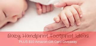 baby handprint footprint ideas kaboutjie