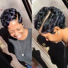 black hair 27 piece with sidebob 579 best finger wave pixie images on pinterest short cuts pixie