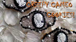 cameo cookies where to buy fondant skull cameo cookies for