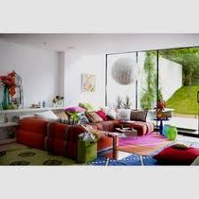 Modern Style Living Room Modern Interiors Floor Seating Floor Couch And Black Leather