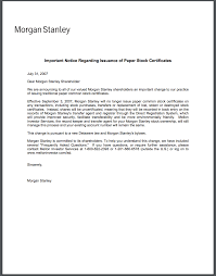 Certification Letter Ownership Sample 3 ways to issue paperless or electronic stock certificates