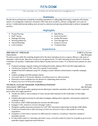 Talent Acquisition Resume Sample by Web Marketing Resume Resume For Your Job Application