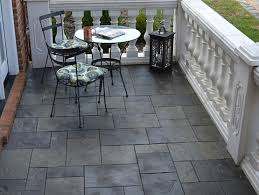 Outdoor Flooring Ideas Black Slate Patio Tiles For Outdoor Patio Flooring Flooring