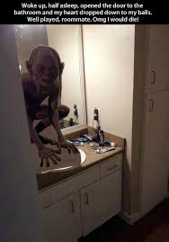 bathroom prank ideas gollum bathroom prank humor humor memes and april