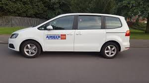 seat alhambra s 2 0l leeds taxi plated full service history car