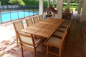 teak patio table with leaf teak outdoor furniture lasts a lifetime