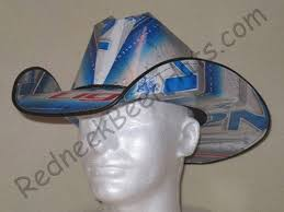 bud light beer box hat natural light beer box cowboy hats cases carton box hat